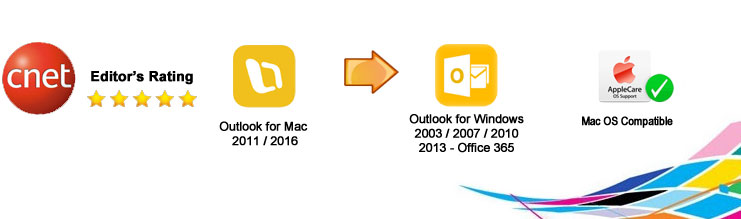 OLM to PST Converter Pro for Mac OS X to Convert outlook mac 2011 / 2016 files to pst